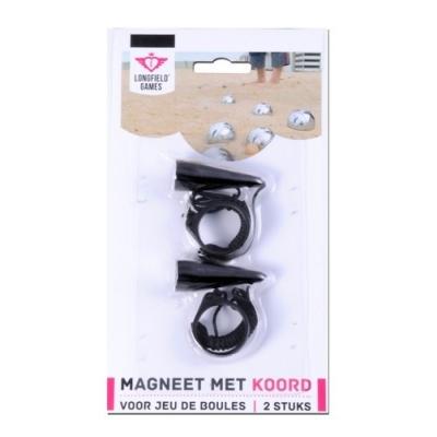 Magneet met koord 2 stuks