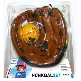 Honkbalhandschoen-Set met bal