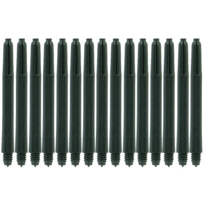 Bulls Nylon shafts 5 pack zwart