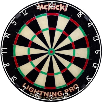 McKicks  Shark Lighning Pro Dartbord