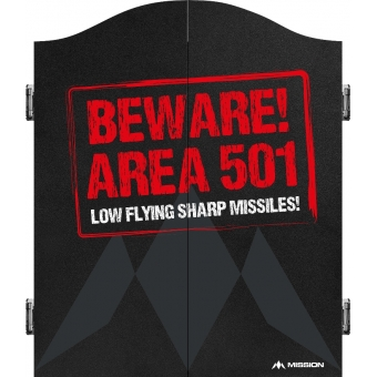Caution Area 501 Red Cabinet