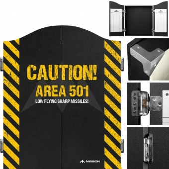 Caution Area 501 Yellow Cabinet