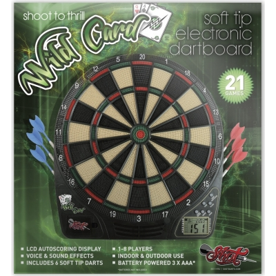 Wildcard Softtip Electronic Dartboard